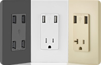 USB Charger/Tamper-Resistant Receptacles